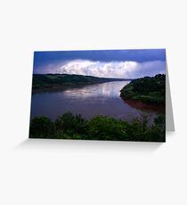 Iguazu River Greeting Card