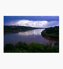 Iguazu River Photographic Print