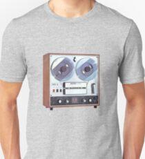 Vintage Analog tapedeck player T-Shirt
