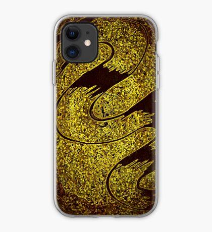 Magic Golden Flow iPhone Case