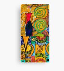 The Angel SPARKLE Celebrates LIFE Canvas Print