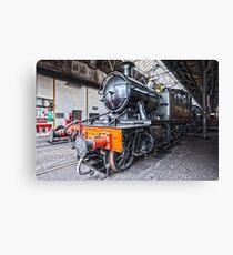 Steam Locomotive HDR Canvas Print