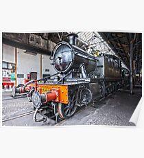 Steam Locomotive HDR Poster