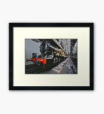 Steam Locomotive HDR II Framed Print