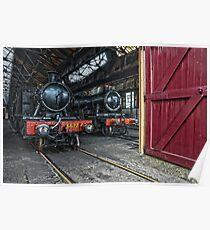 Steam Locomotive HDR V Poster