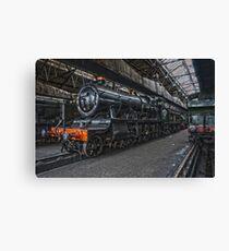 Steam Locomotive HDR VII Canvas Print
