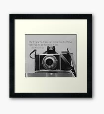 Photography Dorothea Lange Framed Print
