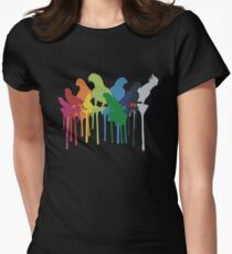 Over The Rainbow Tailliertes T-Shirt