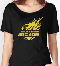 GOLD SAUCER ARCADE Women's Relaxed Fit T-Shirt