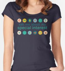 """Special Interest Series """"Marine"""" Women's Fitted Scoop T-Shirt"""