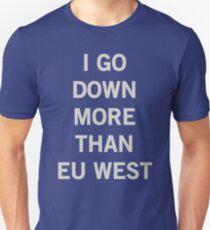 EU West League of Legends servers Unisex T-Shirt