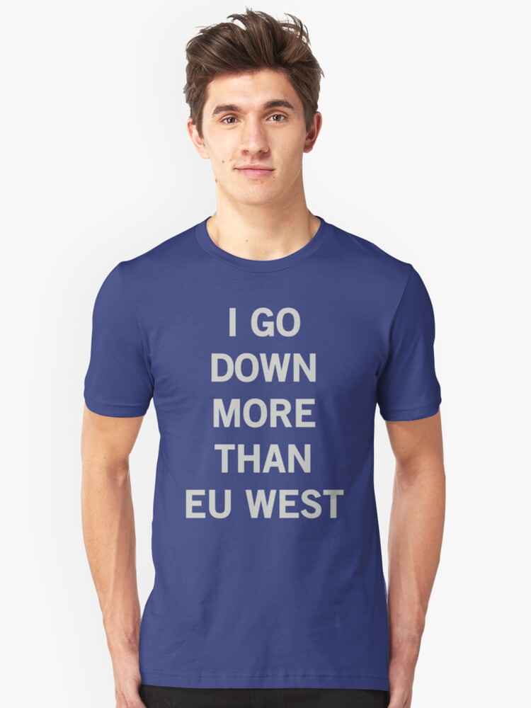 EU West League of Legends servers Unisex T-Shirt Front