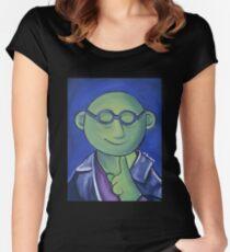 Bunsen Honeydew, Eighth Doctor Women's Fitted Scoop T-Shirt