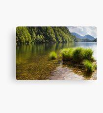 Lake Toplitz Canvas Print