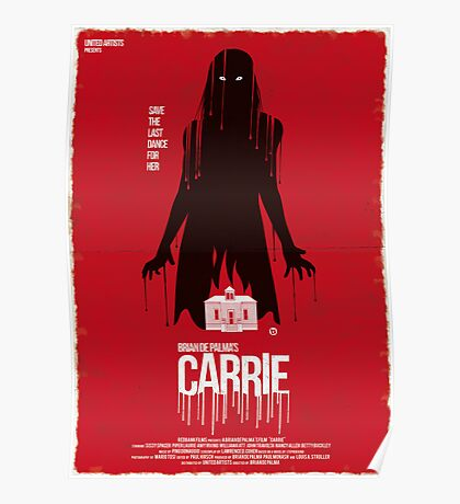 Carrie (Red Collection) Poster
