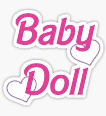 Baby Doll ❤❤ Sticker