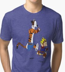 Calvin and Hobbes Jak And Daxter Tri-blend T-Shirt