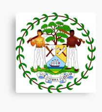Belize Coat of Arms  Canvas Print