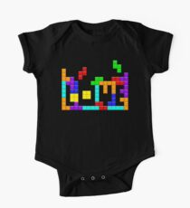 Tetris Love One Piece - Short Sleeve