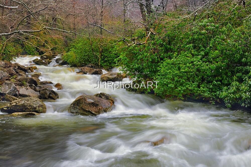 Spring Brook by JHRphotoART