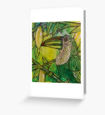 Lush (Rainforest Toucan) Greeting Card