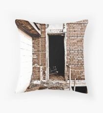 What Did It Say Throw Pillow