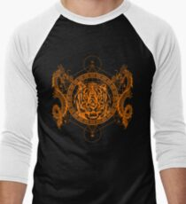 Mystic Tiger Men's Baseball ¾ T-Shirt