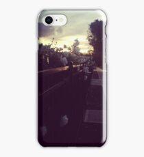 Following the sun iPhone Case/Skin