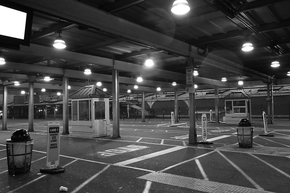 NJ Transit's Bus Station Hoboken NJ by pmarella