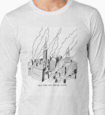 New York Skyscrapers 1955 T-Shirt