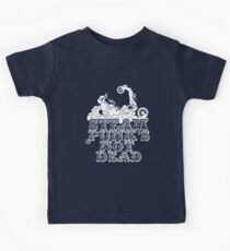 steampunk's not dead (white) Kids Clothes