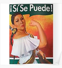 Si Se Puede Poster