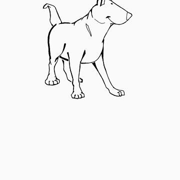 The Bull Terrier by davidicon