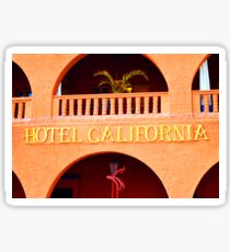 Original Hotel California Sticker