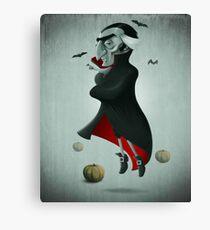 Halloween Vampire Canvas Print