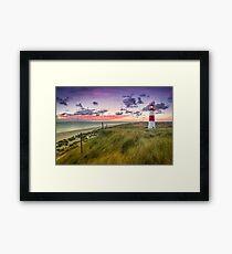Lighthouse List East (Ellenbogen/Sylt) Framed Print