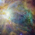 Orion Nebula by pjwuebker