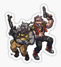 Hench Mutants Sticker