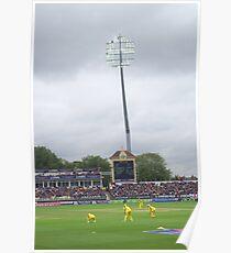 Floodlit Cricket Poster