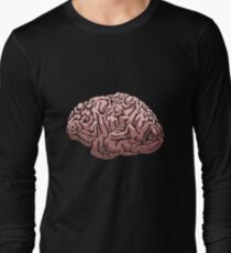 Human Brain Long Sleeve T-Shirt