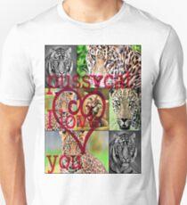 pussycat I love you Unisex T-Shirt