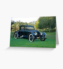 1921 Duesenberg A Bender Coupe II Greeting Card