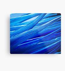 Blue Murano Glass abstract Metal Print