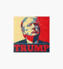Vote TRUMP - Donald Trump in 2016 - Shepard Fairey Style - Make America Great Again Art Board