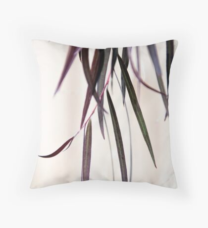 Silver Princess  Throw Pillow