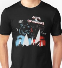 Earth vs. The Invaders T-Shirt