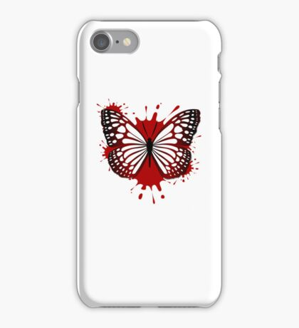 Blood Butterfly iPhone Case/Skin