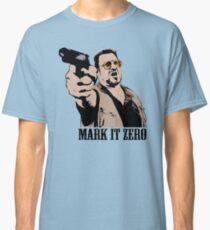 The Big Lebowski Mark It Zero Color Tshirt Classic T-Shirt