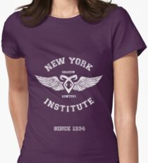 New York Institute Womens Fitted T-Shirt