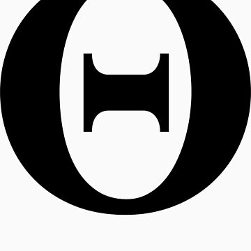 Theta | Symbology by FreshThreadShop